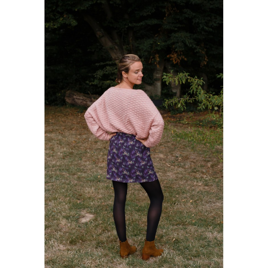 Jupe Nane Tigre violette