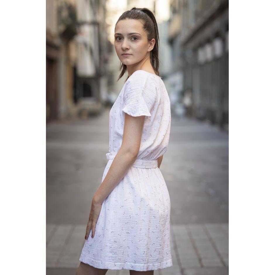 Robe Clémentine Blanche