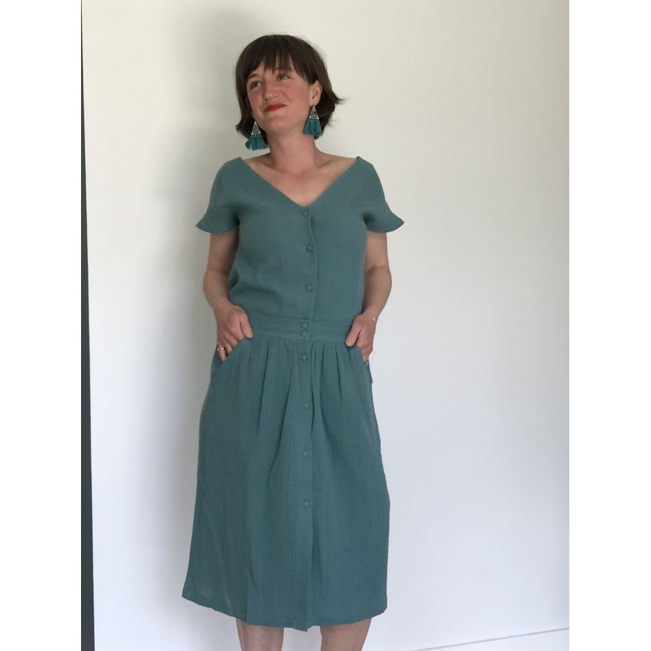 Jupe Mimi Eucalyptus