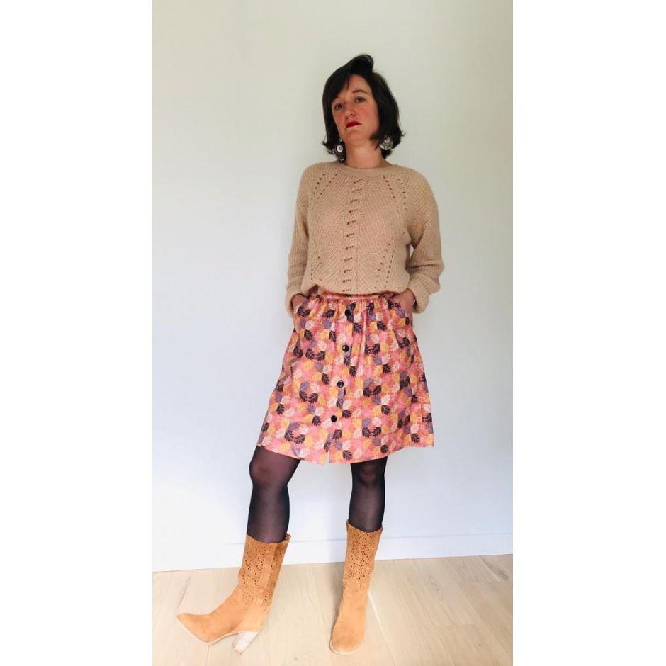 Jupe Marie Feuille d'automne